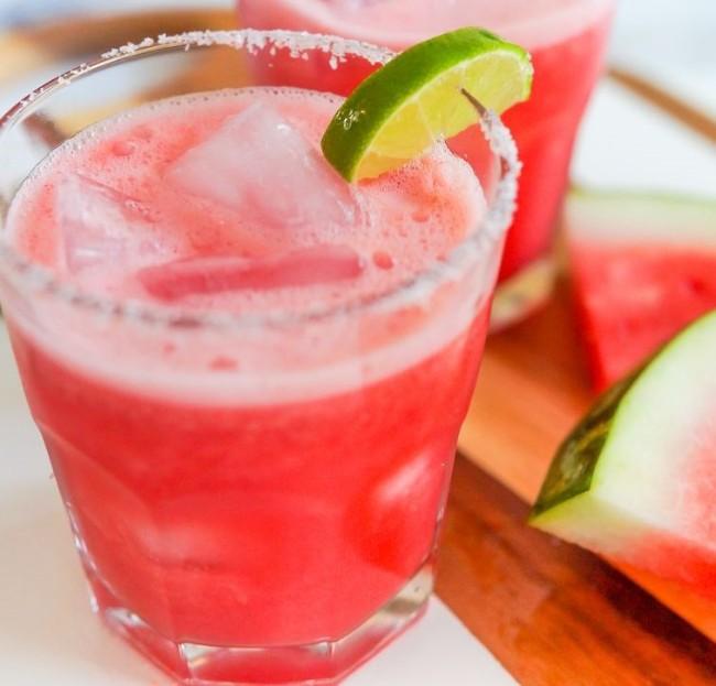 Image of Watermelon Margarita Mocktail