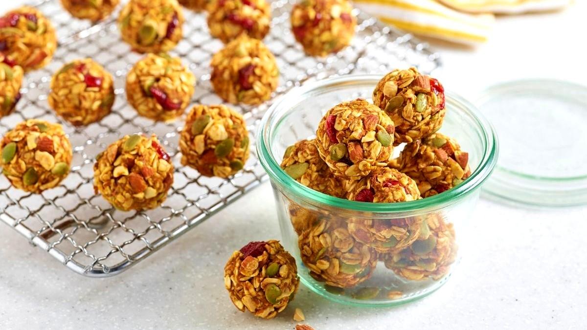 Image of Pumpkin Cranberry Almond Bites