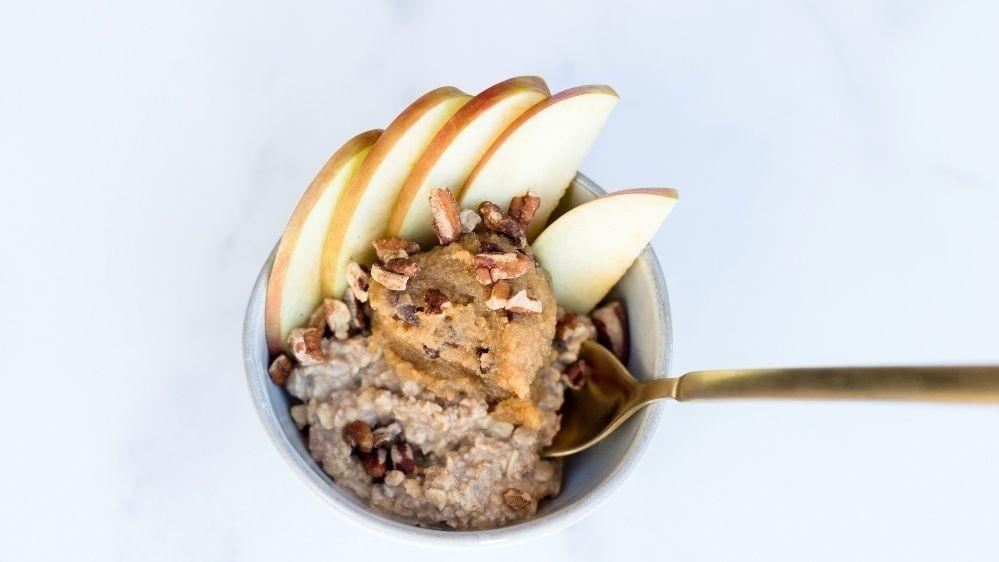 Image of Fall Oatmeal Bowl