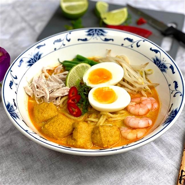 Image of Curry Laksa (Kari Mee / Laksa Lemak)