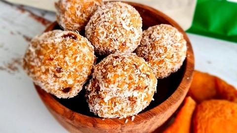 Image of Peach Protein Balls