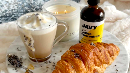 Image of Smoked Lavender Coffee