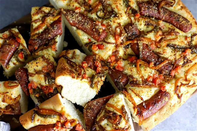 Image of Sausage Focaccia