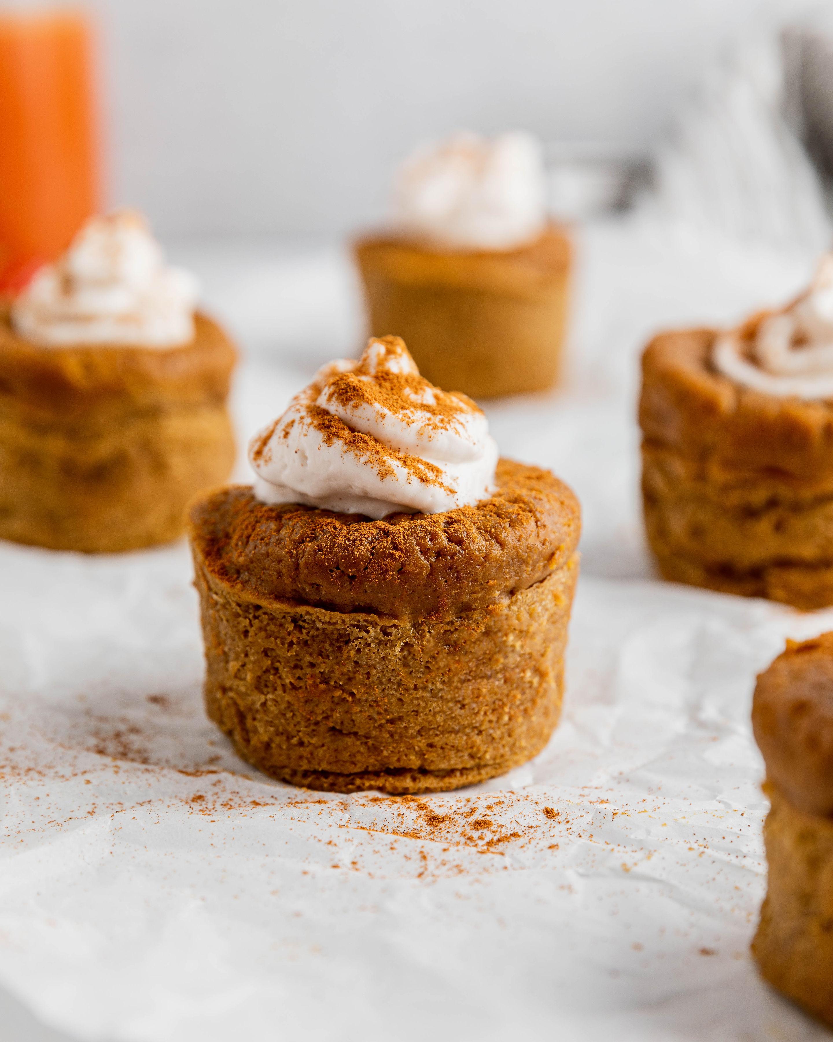 Image of Pumpkin Pie Cupcakes