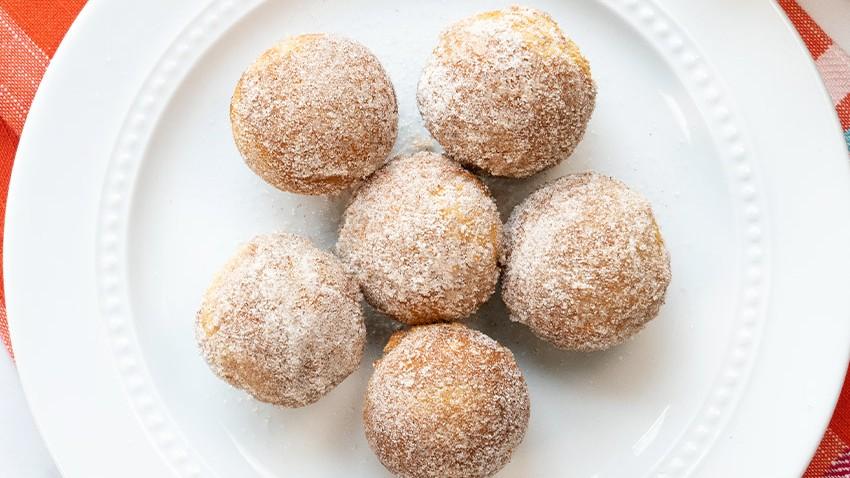 Image of Grain-Free Churro Donut Holes