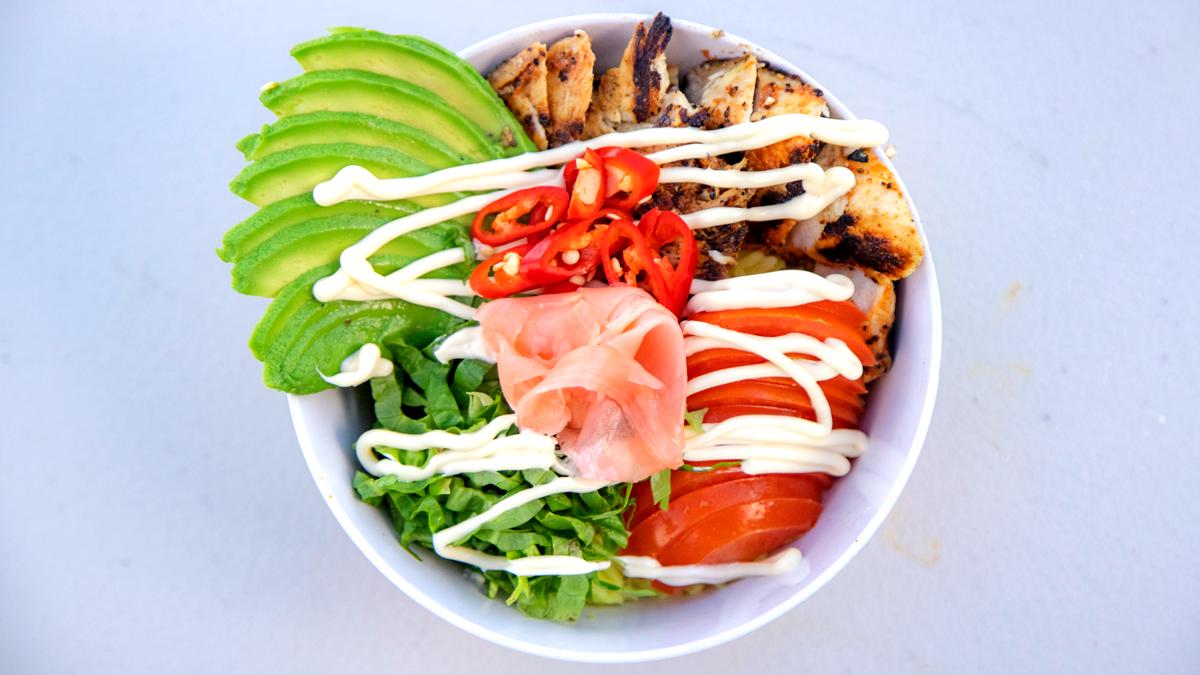 Image of Chicken Rice Poke Bowl