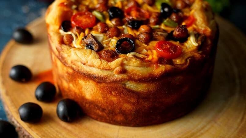 Image of Italian Style Deep Dish Pizza