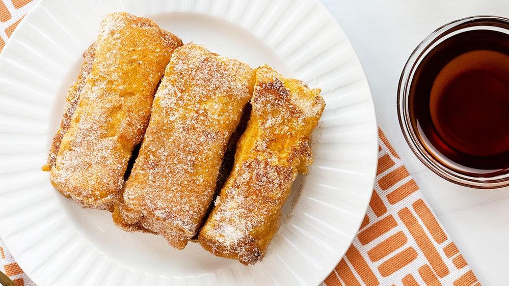 Image of Pumpkin Churro French Toast Sticks