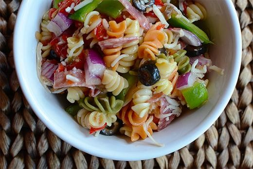Image of Red Pepper & Onion Pasta Salad