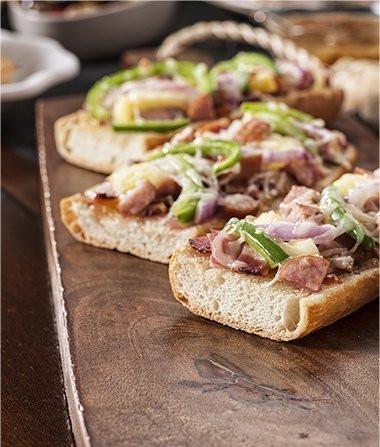 Image of Hawaiian French Bread Pizza