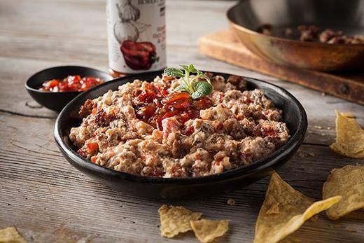 Image of Roasted Red Pepper & Sausage Dip