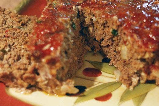 Image of Meatloaf with Balsamic Caramelized Onions