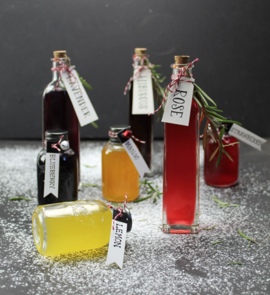 Image of Flavored Simple Syrup Recipe